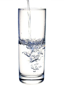 Drink more water to reduce water retention during pregnancy