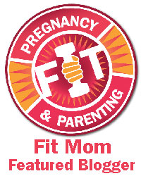 Fit Mom Featured Blogger Badge