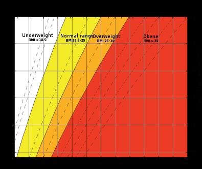 Healthy Bmi Body Mass Index For Pre Pregnancy Or Preconception