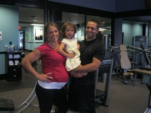 Fit Pregnant Mom and Personal Trainer Erin Brooks