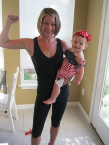 Backyard Boot Camp Post Pregnancy: Legs and Cardio Circuit!