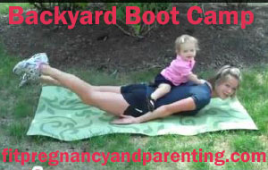 Backyard boot camp: how to get rid of your love handles