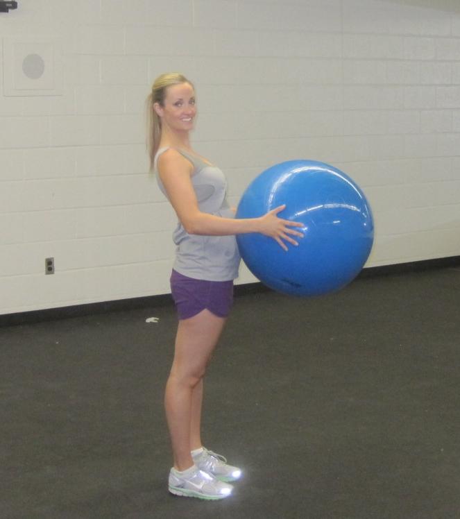 Balance Ball Exercises For Pregnancy: Fit Preggo Stability Ball Workout!