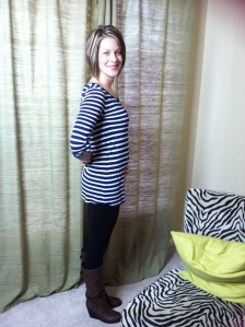 Baby bump at nearly 17 weeks!