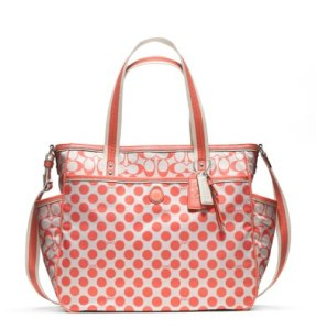 My push present -- a Coach diaper bag!