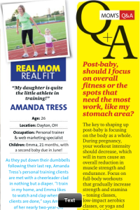 Emma Tress and Amanda Tress were thrilled to be featured in Oxygen Magazine's May issue.
