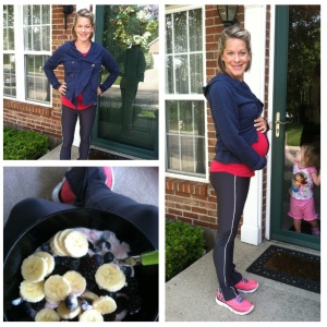 Had an eventful night, but enjoyed a gym client session at my house this morning. Ran a couple miles and felt great!