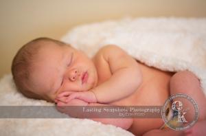Sneak peak of Cole's newborn shoot with Erin Krizo from Lasting Snapshots Photography.