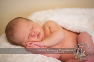 Sneak peak of Cole's newborn shoot with Erin Krizo from Lasting Snapshots Photography.