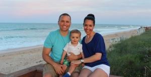 Family Photo Beach Sunset