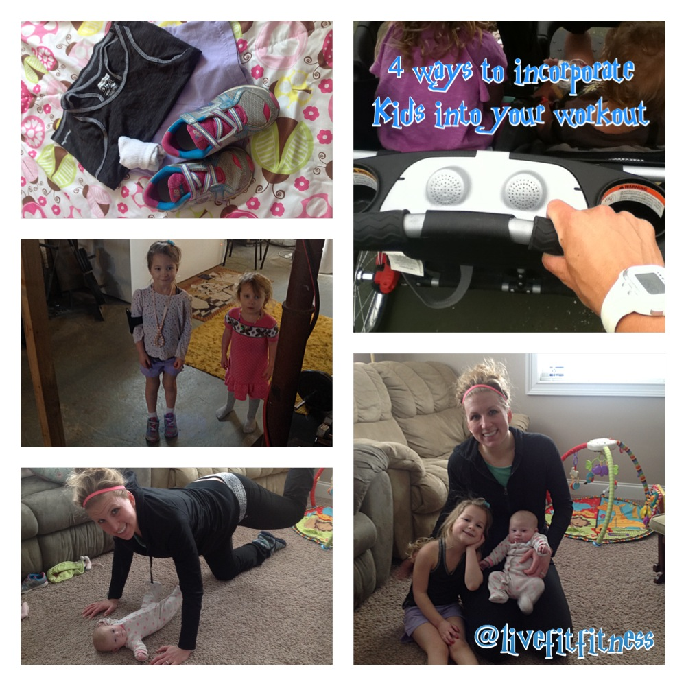 4 Tips on How to Incorporate Kids into Your Workout – Fit ...