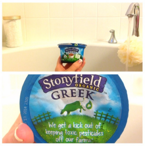 Stonyfield Green Yogurt