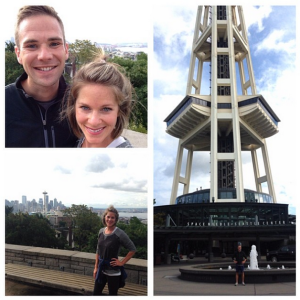 We took a run up to Kerry Park for a great view and visited the Space Needle on the way back.